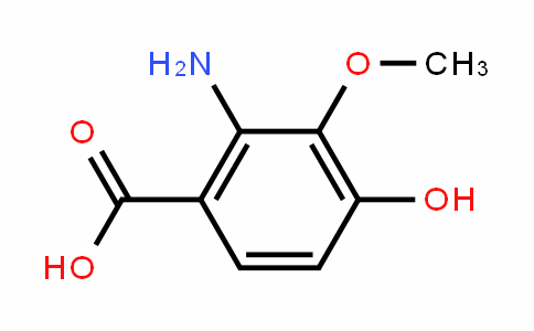 2-amino-4-hydroxy-3-methoxybenzoic acid