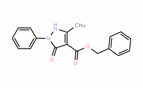 benzyl 5-methyl-3-oxo-2-phenyl-2,3-dihydro-1H-pyrazole-4-carboxylate