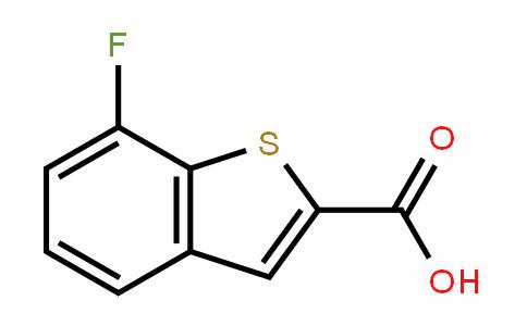 7-fluorobenzo[b]thiophene-2-carboxylic acid