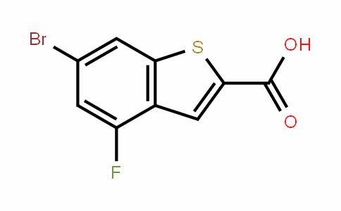 6-bromo-4-fluorobenzo[b]thiophene-2-carboxylic acid