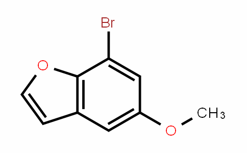 7-bromo-5-methoxybenzofuran