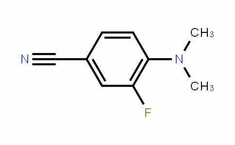 4-(dimethylamino)-3-fluorobenzonitrile