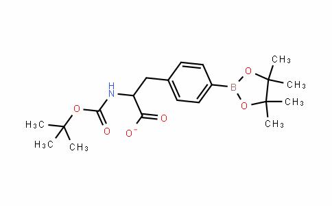 (2S)-2-[(叔丁氧羰基)氨基]-3-[4-(4,4,5,5-四甲基-1,3,2-二氧杂环戊硼烷-2-基)苯基]丙酸甲酯