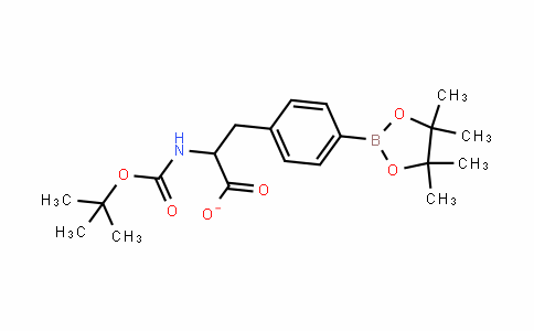 2-(tert-butoxycarbonylamino)-3-(4-(4,4,5,5-tetramethyl-1,3,2-dioxaborolan-2-yl)phenyl)propanoate