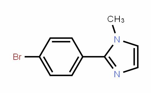 2-(4-bromophenyl)-1-methyl-1H-imidazole