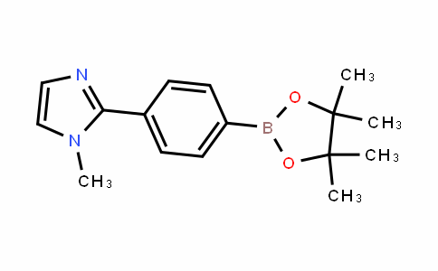 1-methyl-2-(4-(4,4,5,5-tetramethyl-1,3,2-dioxaborolan-2-yl)phenyl)-1H-imidazole