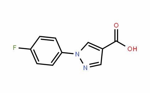 1-(4-fluorophenyl)-1H-pyrazole-4-carboxylic acid