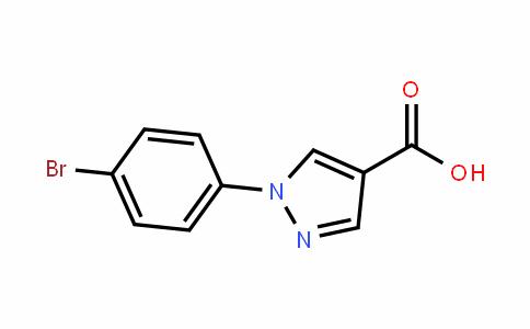 1-(4-bromophenyl)-1H-pyrazole-4-carboxylic acid