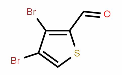 3,4-dibromothiophene-2-carbaldehyde