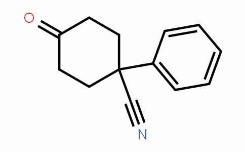 4-oxo-1-phenylcyclohexanecarbonitrile