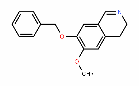 7-Benzyloxy-6-methoxy-3,4-dihydroisoquinoline