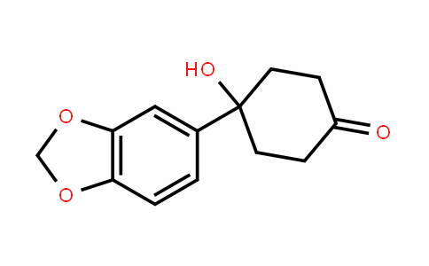 4-Benzo[1,3]dioxol-5-yl-4-hydroxycyclohexanone
