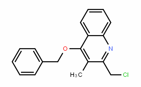 4-Benzyloxy-2-chloromethyl-3-methyl-quinoline