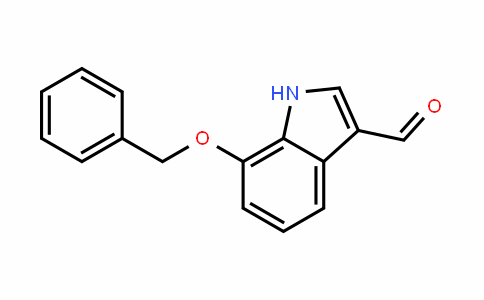 7-Benzyloxy-3-formylindole