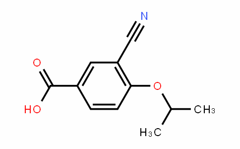 3-氰基-4-异丙氧基苯甲酸