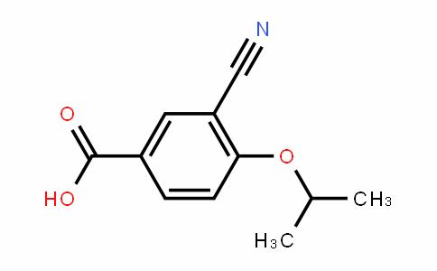 3-Cyano-4-isopropoxy-benzoic acid