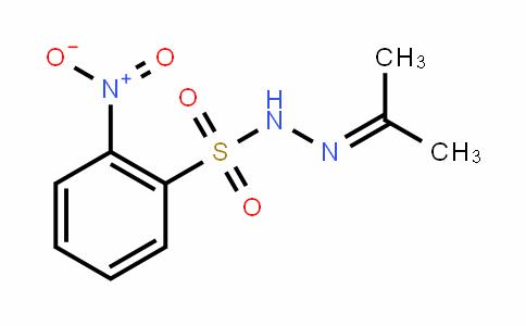 2-nitro-N'-(propan-2-ylidene)benzenesulfonohydrazide
