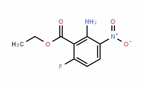 2-Amino-6-fluoro-3-nitrobenzoic acid ethyl Ester