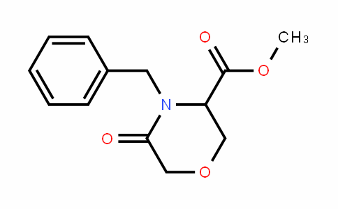 methyl 4-benzyl-5-oxomorpholine-3-carboxylate