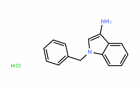 1-Benzyl-3-aminoindole HCl