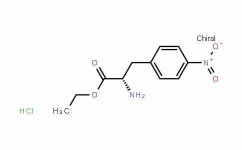 3-(4-nitro-phenyl)-L-alanine ethyl ester HCl