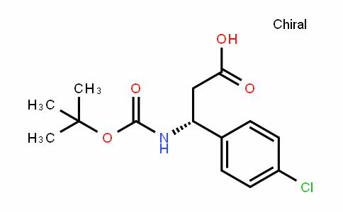 (R)-3-tert-Butoxycarbonylamino-3-(4-chloro-phenyl)-propionic acid