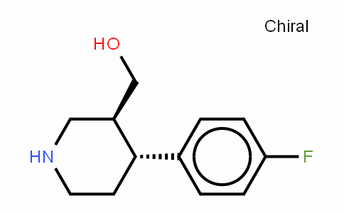 (3S,4R)-(-)-4-(4'-Fluorophenyl)3-hydroxymethyl)-piperidine