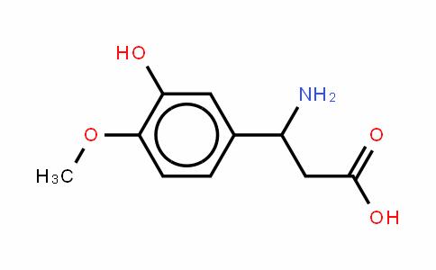 3-氨基-3-(3-羟基-4-甲氧基苯基)-丙酸