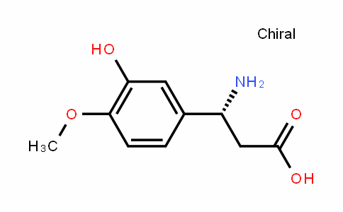 (R)-3-(3-hydroxy-4-methoxyphenyl)-beta-alanine
