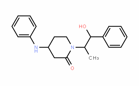 1-(2-Hydroxy-1-methyl-2-phenyl-ethyl)-4-phenylamino-piperidin-2-one