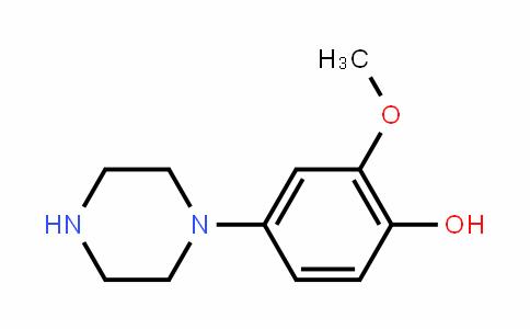 2-甲氧基-4-(1-哌嗪基)苯酚