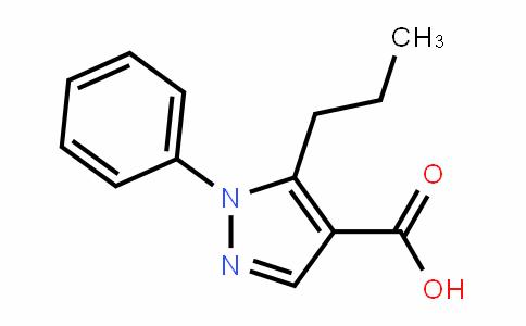 1-Phenyl-5-propylpyrazole-4-carboxylic acid
