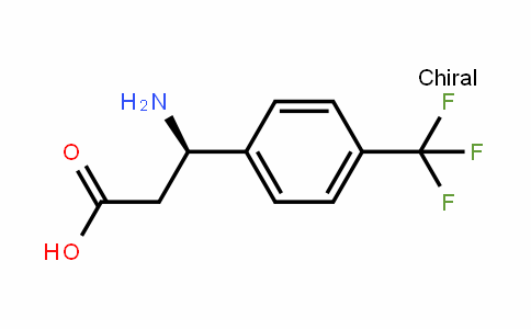 (R)-3-(p-trifluoromethylphenyl)-beta-alanine