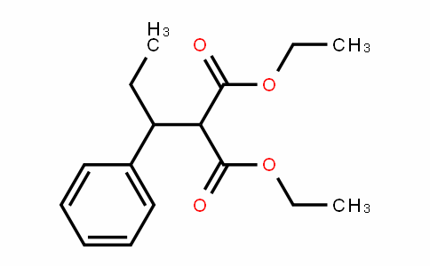 Diethyl 2-(1-phenylpropyl)propanedioate