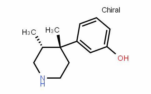 (3R,4R)-3,4-二甲基-4-(3-羟基苯基)哌啶