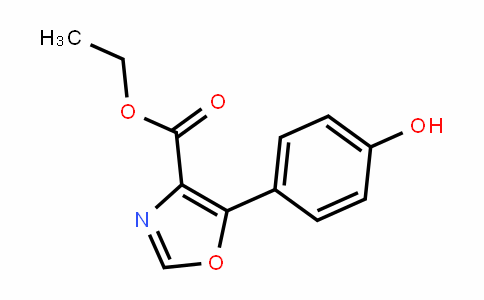 5-(4-Hydroxy-phenyl)-oxazole-4-carboxylic acid ethyl ester