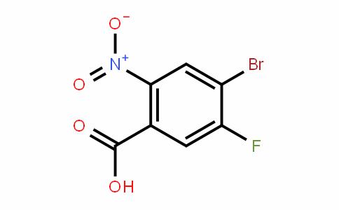 2-硝基-4-溴-5-氟苯甲酸