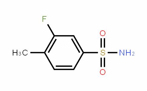 3-Fluoro-4-methylbenzenesulfonamide