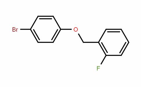 1-(4-Bromophenoxymethyl)-2-fluorobenzene