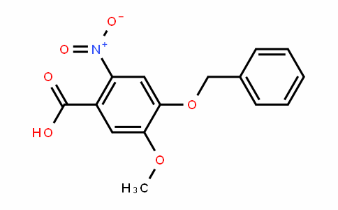 2-Nitro-4-benzyloxy-5-methoxy-benzoicacid
