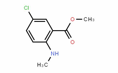 Benzoic acid, 5-chloro-2-(methylamino)-, methyl ester