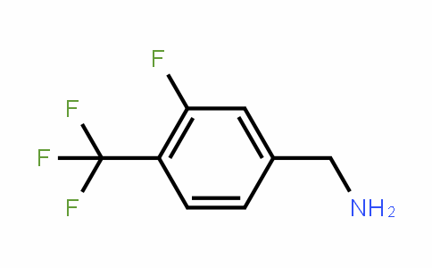 (3-Fluoro-4-(trifluoromethyl)phenyl)methanamine