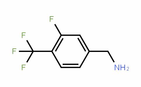 3-氟-4-(三氟甲基)苄胺