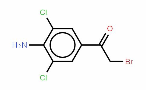 4-氨基-3,5-二氯-2ˊ-溴苯乙酮
