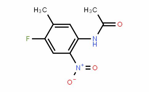 N-(4-fluoro-5-methyl-2-nitrophenyl)acetamide