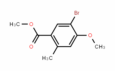methyl 5-bromo-4-methoxy-2-methylbenzoate