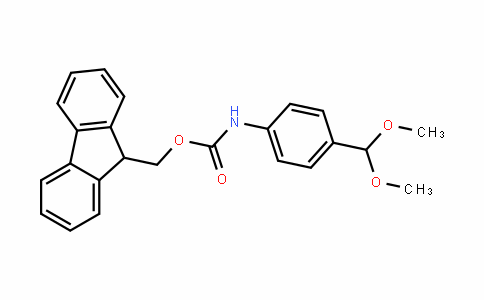 (9H-fluoren-9-yl)methyl (4-(dimethoxymethyl)phenyl)carbamate