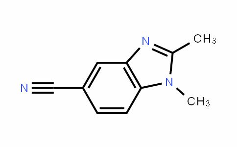 1,2-dimethylbenzimidazole-5-carbonitrile