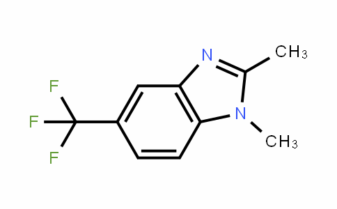 1,2-dimethyl-5-(trifluoromethyl)benzimidazole