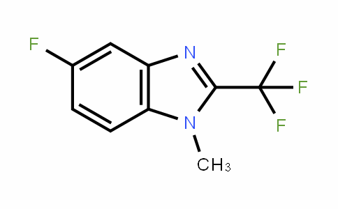 5-fluoro-1-methyl-2-(trifluoromethyl)-1H-benzo[d]imidazole